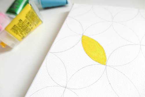 DIY Circle Pattern 手繪無縫相交幾何圓形圖案 (16)