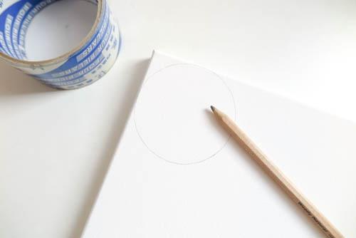 DIY Circle Pattern 手繪無縫相交幾何圓形圖案 (4)