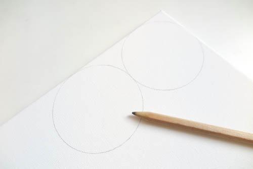 DIY Circle Pattern 手繪無縫相交幾何圓形圖案 (5)