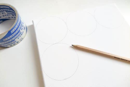 DIY Circle Pattern 手繪無縫相交幾何圓形圖案 (6)