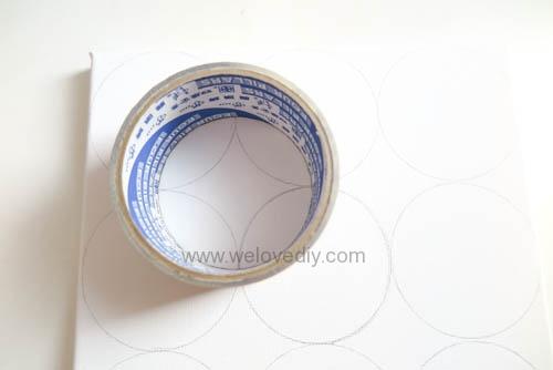 DIY Circle Pattern 手繪無縫相交幾何圓形圖案 (8)
