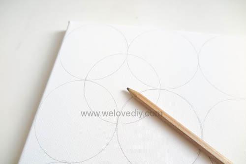 DIY Circle Pattern 手繪無縫相交幾何圓形圖案 (9)