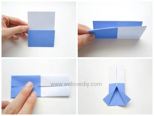 DIY Father's Day 父親節親子手作襯衫領帶摺紙教學 (1)