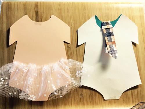 DIY handmade card 小公主風 BABY 手作生日卡片 (10)