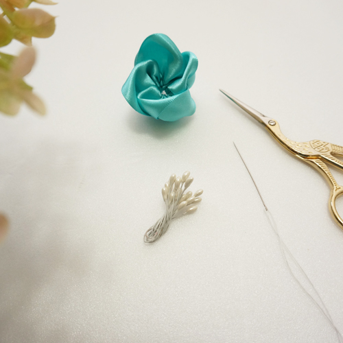 DIY 彌月禮嬰兒頭飾新生兒緞帶頭花 HAO HUO 好貨 (11)