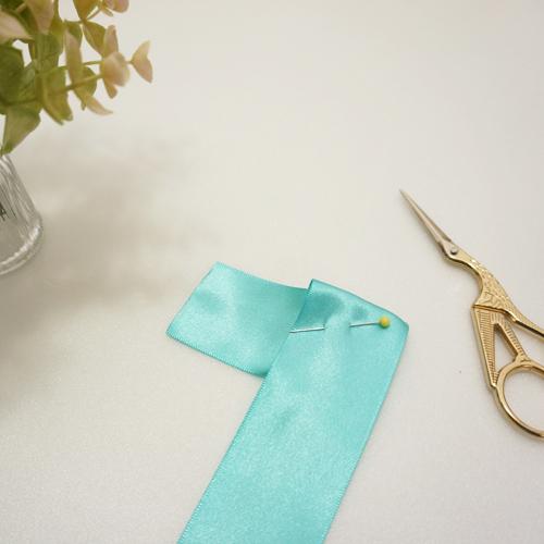 DIY 彌月禮嬰兒頭飾新生兒緞帶頭花 HAO HUO 好貨 (5)