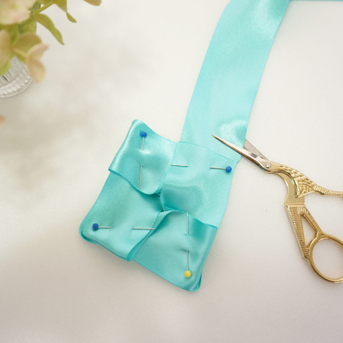 DIY 彌月禮嬰兒頭飾新生兒緞帶頭花 HAO HUO 好貨 (6)