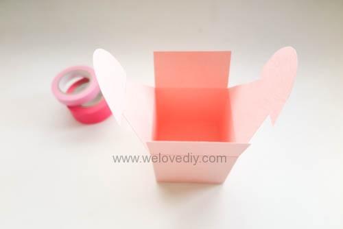 DIY 情人節愛心禮物盒 免費檔案下載 (13)