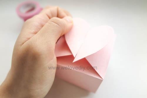 DIY 情人節愛心禮物盒 免費檔案下載 (14)
