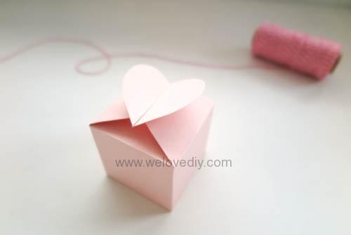 DIY 情人節愛心禮物盒 免費檔案下載 (17)