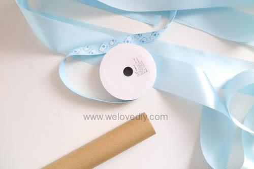 DIY Diaper Cake 手作尿布蛋糕彌月禮 探新生兒孕婦禮物 (4)
