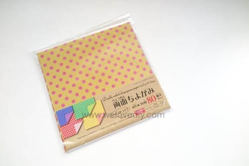 DIY 愛心書籤摺紙 色紙 情人節 (1)