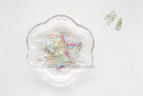 DIY DAISO washi tape 大創紙膠帶裝飾迴紋針 (11)
