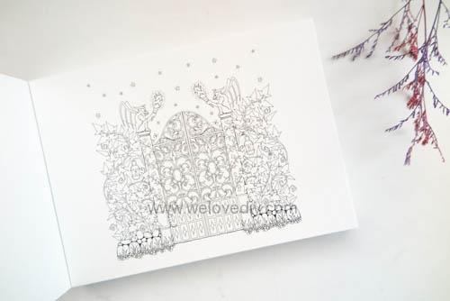 Enchanted Forest Postcards 20 Postcards 大人的著色書魔法森林秘密花園第二集明信片組 (3)