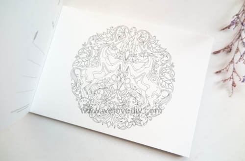 Enchanted Forest Postcards 20 Postcards 大人的著色書魔法森林秘密花園第二集明信片組 (8)