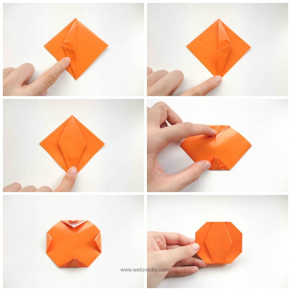 DIY 萬聖節手作南瓜摺紙教學 (3)