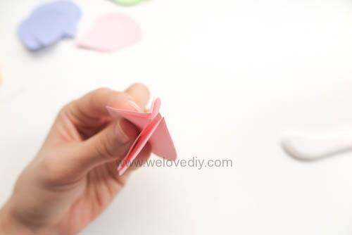 DIY GCC iCraft 手作拼貼切割機紙做立體下雨天吊飾 (4)