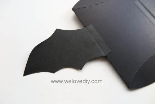 DIY Halloween Bat Pillowbox 萬聖節派盒禮物包裝蝙蝠造型 (2)