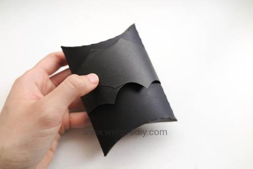 DIY Halloween Bat Pillowbox 萬聖節派盒禮物包裝蝙蝠造型 (3)