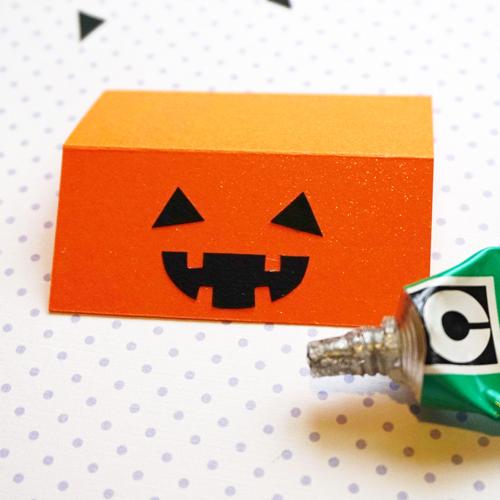 DIY Halloween Pumpkin Candy Favor Bag 萬聖節糖果包裝 Chuan Handmade (12)