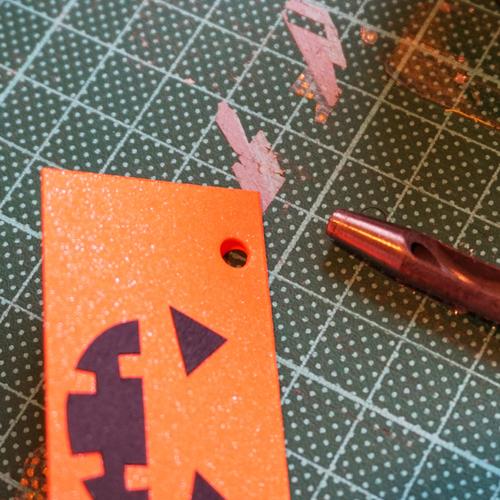 DIY Halloween Pumpkin Candy Favor Bag 萬聖節糖果包裝 Chuan Handmade (13)