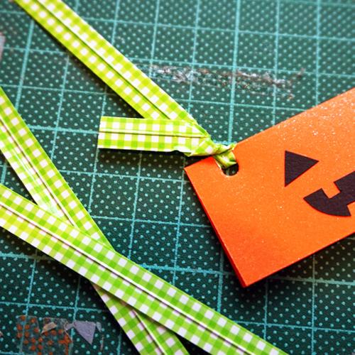 DIY Halloween Pumpkin Candy Favor Bag 萬聖節糖果包裝 Chuan Handmade (14)