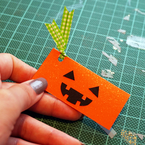 DIY Halloween Pumpkin Candy Favor Bag 萬聖節糖果包裝 Chuan Handmade (15)