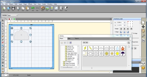 GCC iCraft Sure Cuts a Lot 手作拼貼切割機繪圖軟體