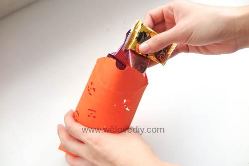 iCRAFT Halloween cutout pumpkin face pillowbox 手作拼貼切割機萬聖節派盒禮物紙盒 (2)