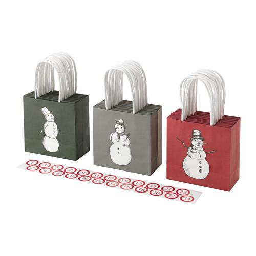 12 個你需要擁有的 IKEA 聖誕節單品 聖誕禮物包裝 (3)