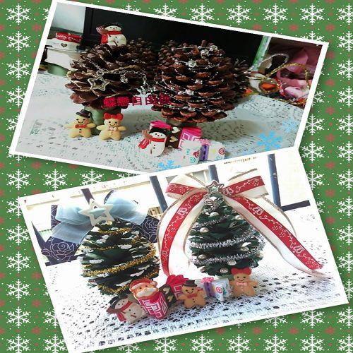 DIY 聖誕節手作松果聖誕樹 (2)