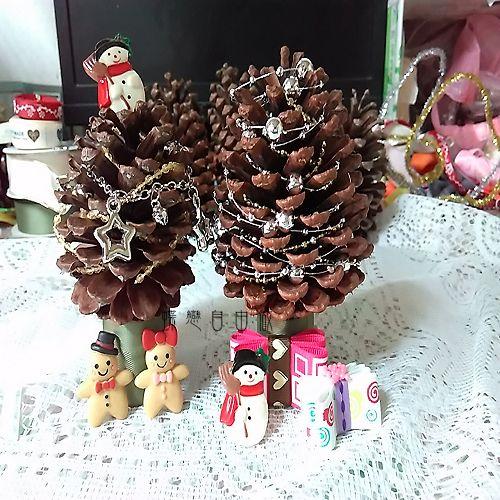 DIY 聖誕節手作松果聖誕樹 (6)
