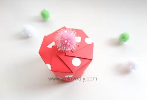 DIY Daiso 聖誕節大創紙杯手作禮物包裝盒 (10)