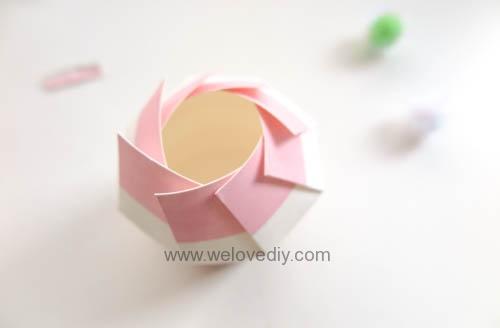 DIY Daiso 聖誕節大創紙杯手作禮物包裝盒 (11)
