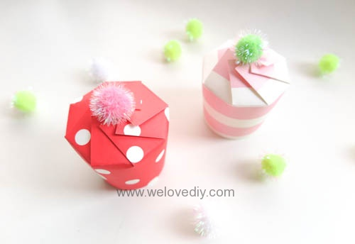 DIY Daiso 聖誕節大創紙杯手作禮物包裝盒 (12)