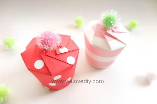 DIY Daiso 聖誕節大創紙杯手作禮物包裝盒 (14)
