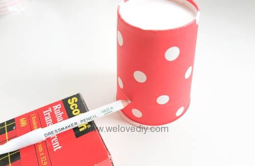 DIY Daiso 聖誕節大創紙杯手作禮物包裝盒 (2)