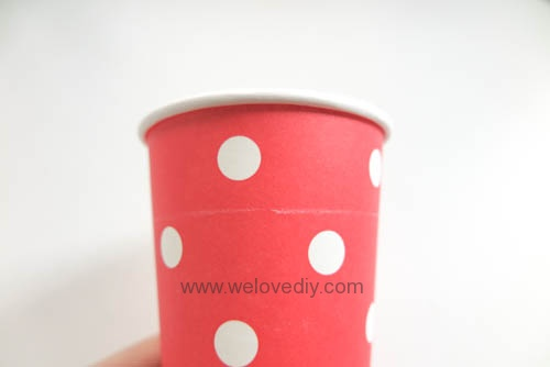 DIY Daiso 聖誕節大創紙杯手作禮物包裝盒 (3)