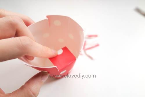 DIY Daiso 聖誕節大創紙杯手作禮物包裝盒 (7)