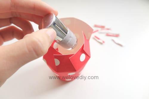 DIY Daiso 聖誕節大創紙杯手作禮物包裝盒 (8)