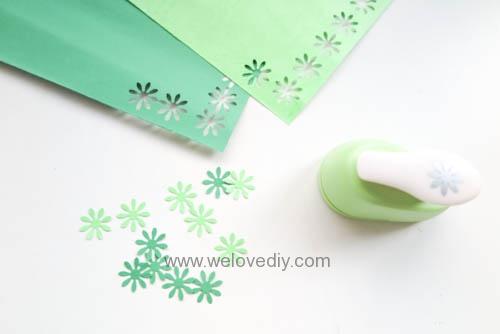DIY Handmade Christmas Wreath Card 聖誕節花圈造型打洞器剪紙卡片手作耶誕賀卡 (2)