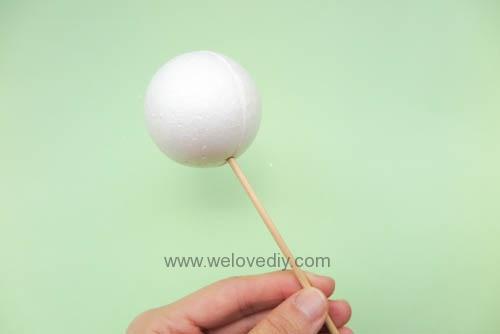 DIY Snowball 聖誕節白色雪球吊飾親子手作 (2)