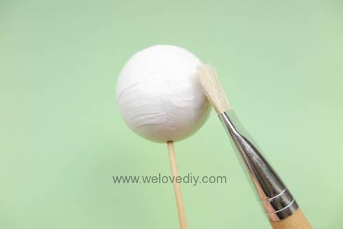 DIY Snowball 聖誕節白色雪球吊飾親子手作 (3)