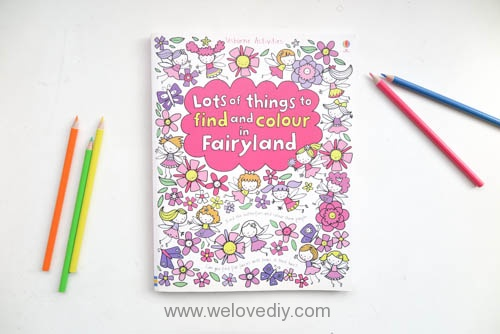 Lots of Things to Find and Colour in Fairyland 親子活動 互動繪畫著色書 你來找、我來畫 跟孩子一起玩填色 書籍介紹 (2)