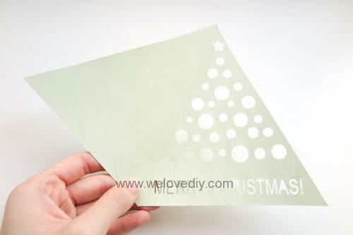 iCRAFT Christmas tree cutout card 手作拼貼切割機聖誕節聖誕樹造型三角形卡片 (1)