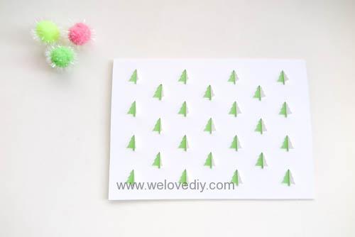 iCRAFT Christmas tree cutout cut and fold card 手作拼貼切割機聖誕節聖誕樹造型卡片 (6)