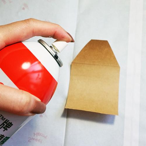 DIY 聖誕節可愛聖誕樹串旗卡片手作信封 CHUAN HANDMADE (5)