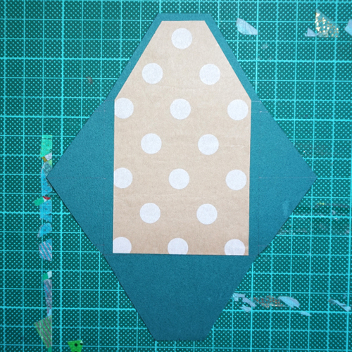 DIY 聖誕節可愛聖誕樹串旗卡片手作信封 CHUAN HANDMADE (6)