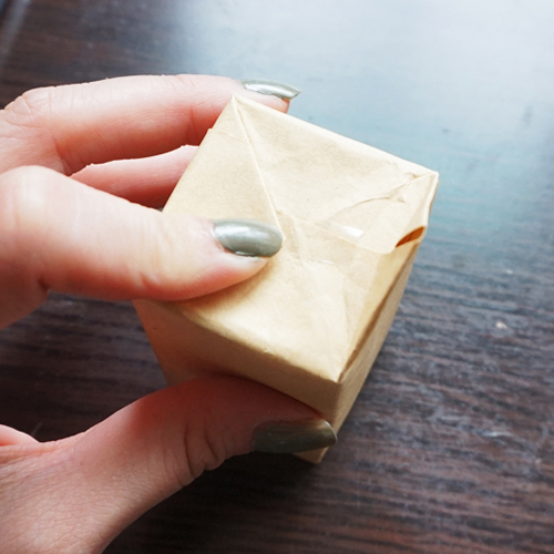 DIY 聖誕節果葉系禮物包裝教學 Chuan Handmade (11)