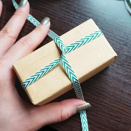 DIY 聖誕節果葉系禮物包裝教學 Chuan Handmade (14)